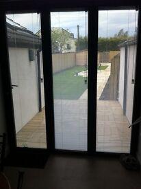 Windows for sliding patio doors