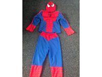 Superhero Spider-Man costume.