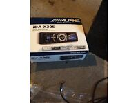 Car stereo + amps and sub