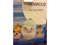 Kenwood IM200 1.1 Litre Ice Cream Maker