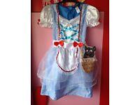 Wizard of Oz Dorothy Costume, fancy dress 7-8 years