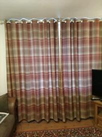 Eyelet curtains 90x90