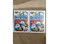 2x The Smurfs - A Christmas Carol DVDs