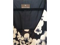 Black & Cream dress size 16