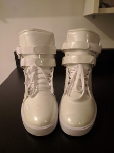 Supra TK Society Shoes / Sneakers - Pearl White - Mens Size 13