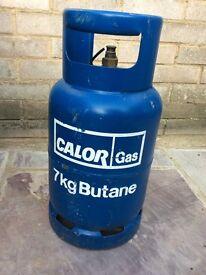 7kg butane gas bottle (almost full)