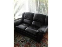 2/3 Seater Leather Sofa