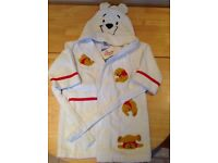 Disney Winnie the Pooh dressing gown brand new
