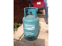 Butane Gas Bottle empty