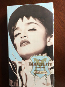 "Madonna VHS tape ""The Immaculate Collection""  Mint !"
