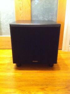 """Dahlquist - PDQ-A120 - Powered Subwoofer -12""""front + 10""""downMINT"""