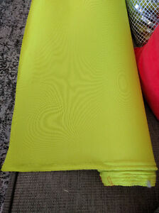 Lime green water repellant fabric, grommets NIP Kitchener / Waterloo Kitchener Area image 1