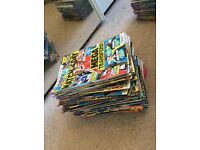 Collection of 141 Match of the Day magazines 2008 - 2014