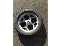 BMW K75S wheels