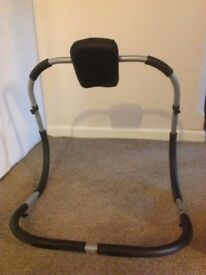 Abs exercise roller bar