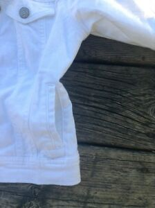 White jean jacket Kawartha Lakes Peterborough Area image 5