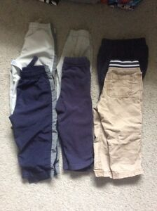 6 pairs of boys pants. Size 18 months