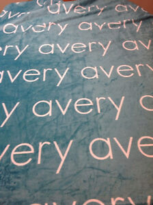 Do you have a child named Avery? Need a cute blanket?