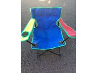 Children's folding camping chair