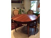 Perfect condition set of table and chairs