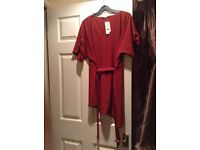 Red D-Ring Blouse size 12-14