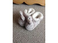 18-24month the little white company slippers