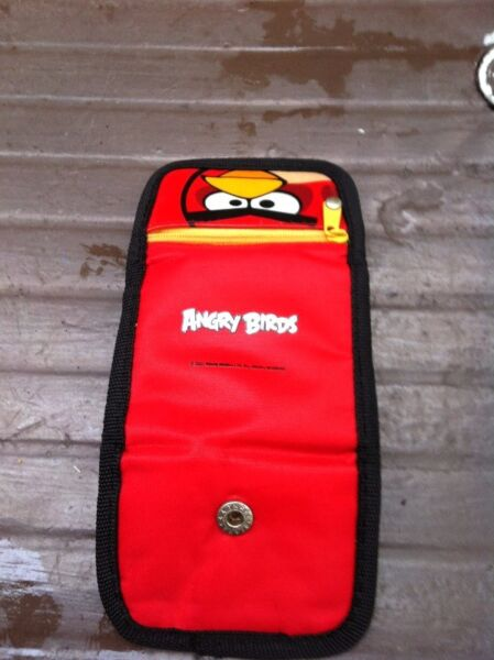 Angry Bird wallet. Used only once. In good condition.