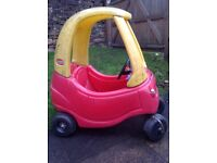 Little Tikes car, reasonable condition all works very well