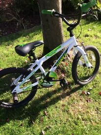"Boys Apollo bike 18"" almost new!!! Great Christmas present, was £150; excellent condition"