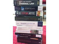 13 Law text books