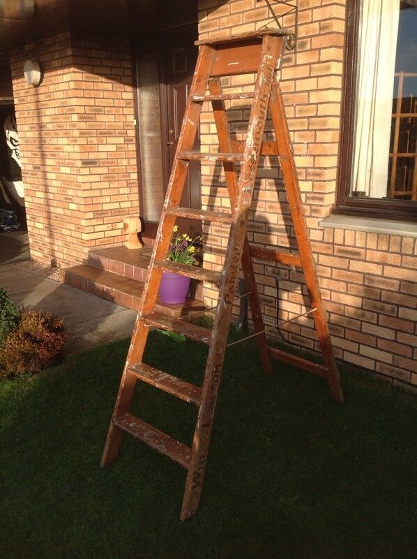 Old painter's ladder