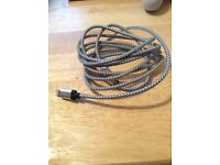 6ft braided iPhone cable