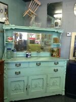 c1800's SHABBY CHIC SIDEBOARD $1360