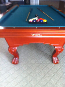 Pool Table....almost new.