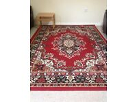 Large Rug carpet excellent condition traditional