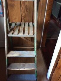 Vintage wooden Ladders (Display) Shabby Chic Project