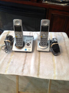 Panasonic Cordless Phones Model KX-TG1031CS