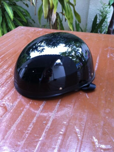 Black helmet.    In good condition.