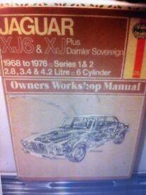Haynes Manual, Jag XJ6 & XJ 68-75