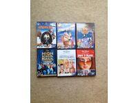 Disney DVD Bundle (6 DVD's)