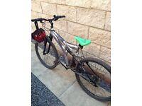 Dunlop Mountain Bike With Helmet