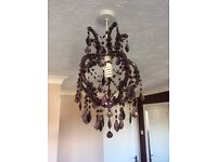 Attractive chandelier ideal for bedroom