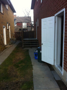1 Room in Basement Immediately Available !