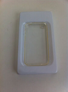 Silicone Skin Soft Cover Clear Case for Apple iPhone 4(New)
