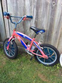 Spider Man Kid's Bike