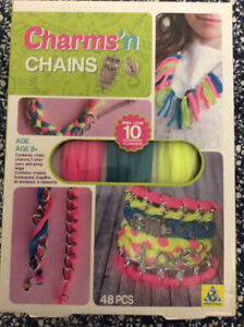 Charms n' Chains jewellery fashion kit 48 pieces (Sealed)