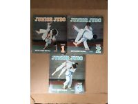 "Set of 3 ""JUNIOR JUDO"" reference books"