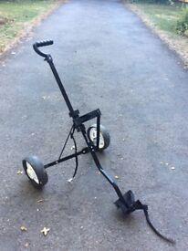 Dunlop foldable golf trolley