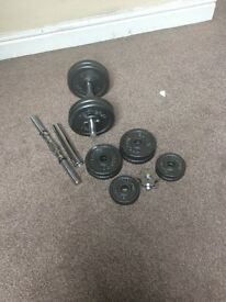 Dumbells for SALe £35