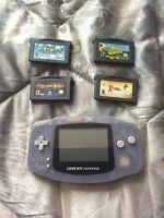 Gameboy advance with 5 games